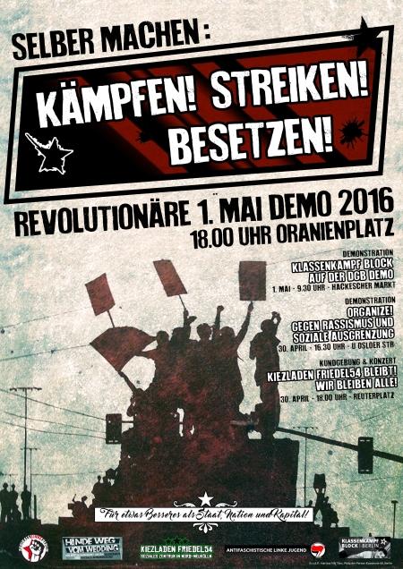 Kämpfen! Streiken! Besetzen!