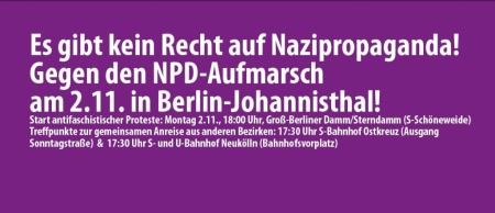 Demo gegen Nazis