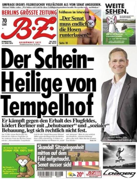 Der Scheinheilige von Tempelhof