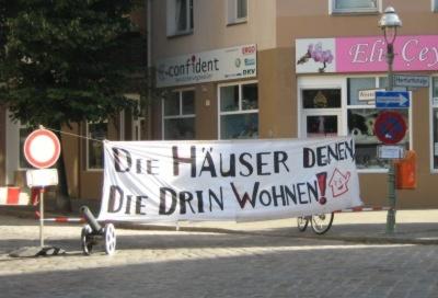 Transparent Strassenfest Weisestrasse