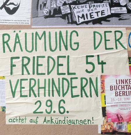 Friedel54 - Räumung verhindern!