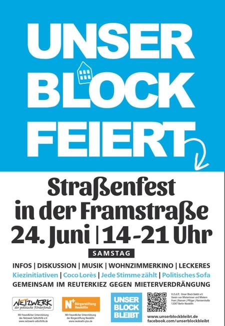 Strassenfest am 24. Juni