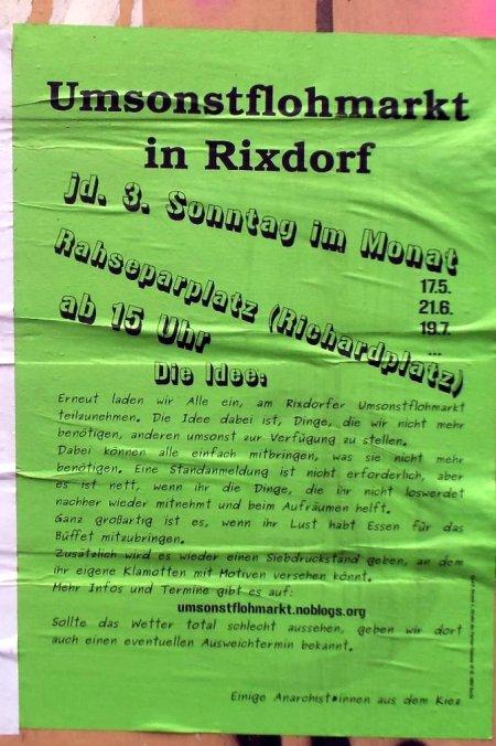 Umsonstflohmarkt Rixdorf