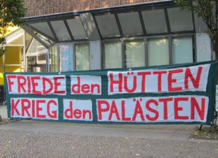 Friede den Hütten, Krieg den Palästen