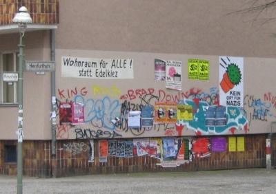 Hauswand Weisestr. /Herrfurthstr