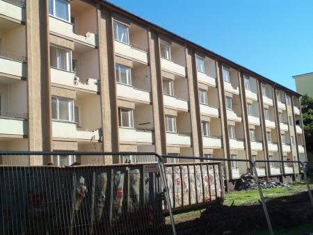 Heidelberger Str 15-18 Abriss Wohnraum