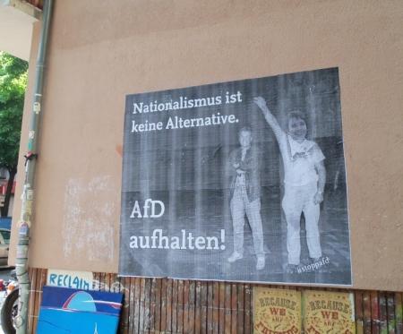 Nationalismus ist keine Alternative