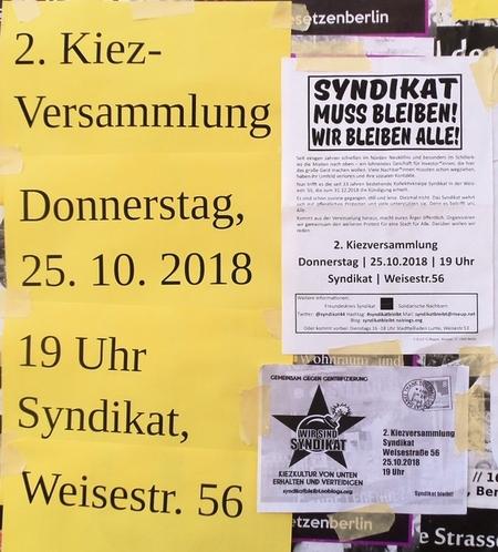 Infowand Herrfurthstrasse Ecke Weisestr.