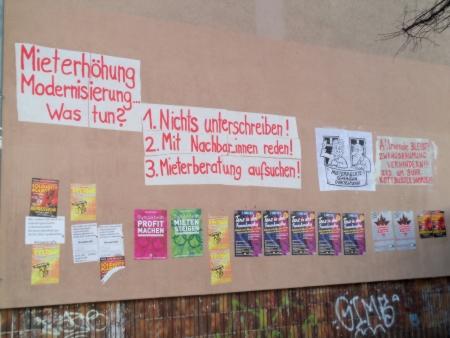 Infowand Schillerkiez