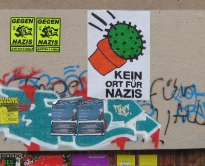Plakat Kein Ort für Nazis