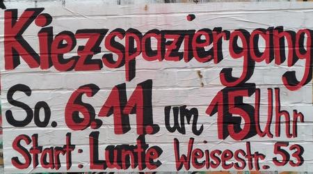Kiezspaziergang Schillerkiez 6.11.2016