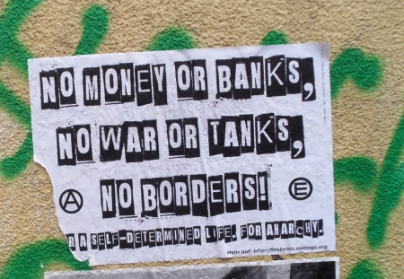 No money or banks