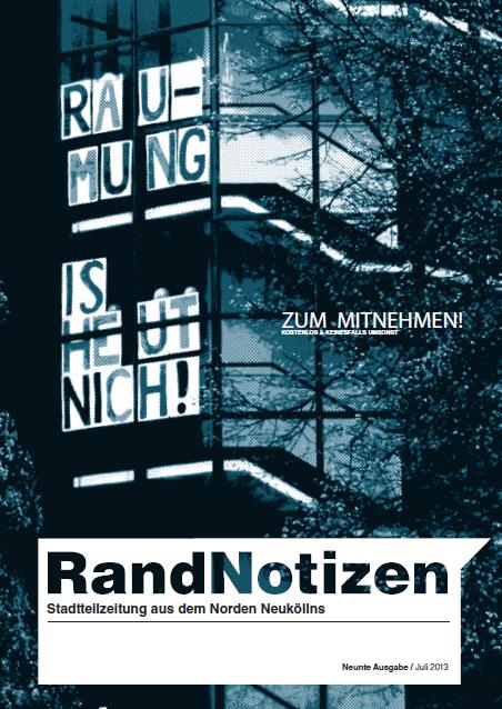 RandNotizen 9 Titelbild