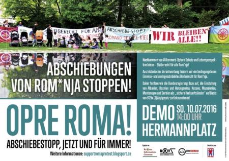 Soli-Demo für Roma