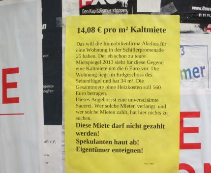 14 Euro Kaltmiete im Schillerkiez verlangt