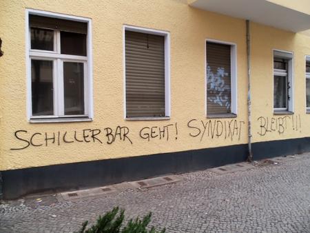 Schillerbar geht Syndikat bleibt