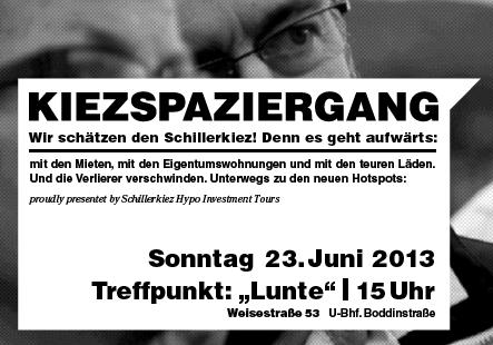 Spaziergang Schillerkiez 2013