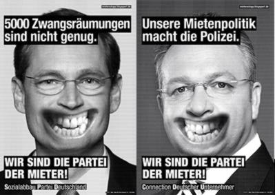 Wahlkrampf CDU und SPD