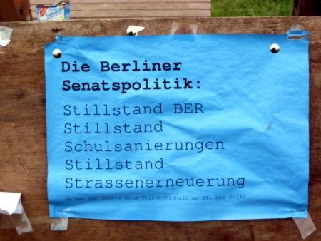 100% Stillstand Berlin