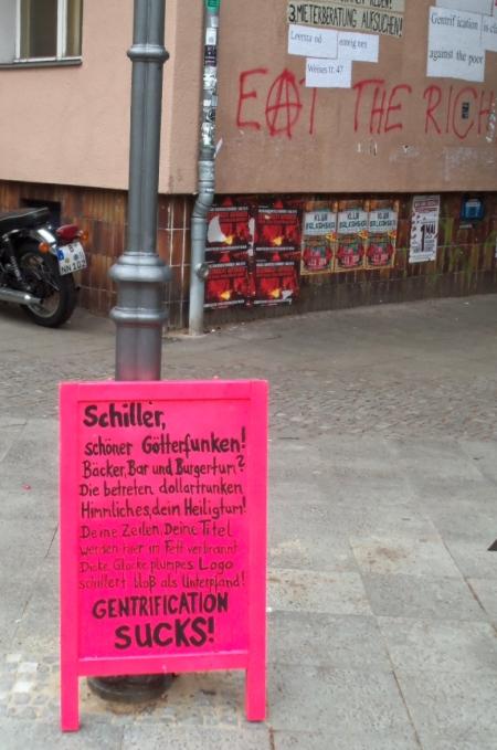 Kunst gegen Schillerbar
