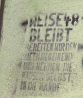 Graffitti Weisestrasse 90er Jahre