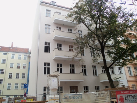 Weisestr. 47 neue Fassade