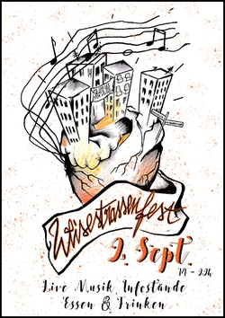 Weisestrassenfest 2. September 2017