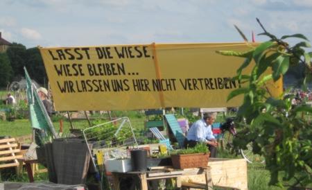Tempelhofer Feld bleibt Wiese