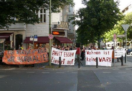 Kundgebung gegen Ziegert 24.7.2012
